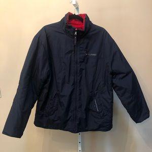 Tommy Hilfiger Navy/Red Winter Coat (M)